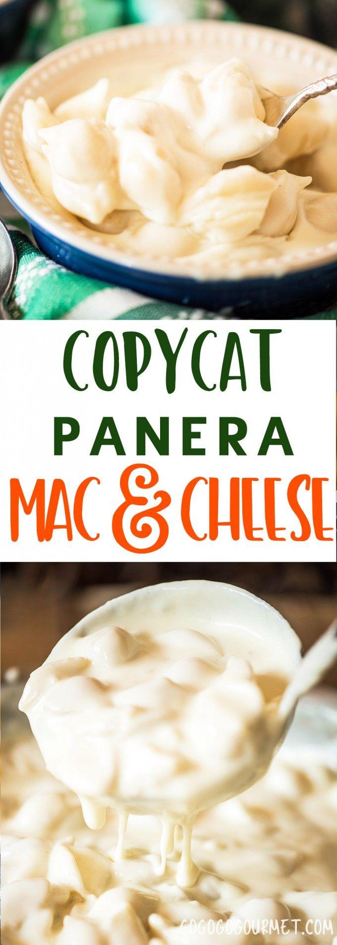 Copycat Panera Mac and Cheese Go Go Go Gourmet
