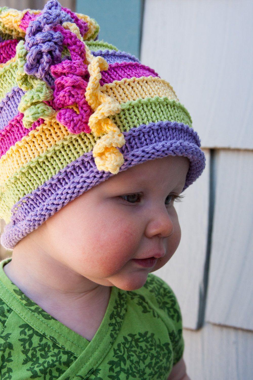 rainbow | Gizelda kuster | Pinterest | Loom knit hat, Rainbows and ...