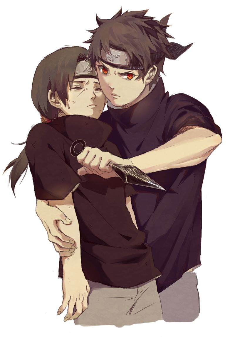 Shisui and Itachi--i feel like Shisui is kind of forgotten about. its a shame, he's a cool character.