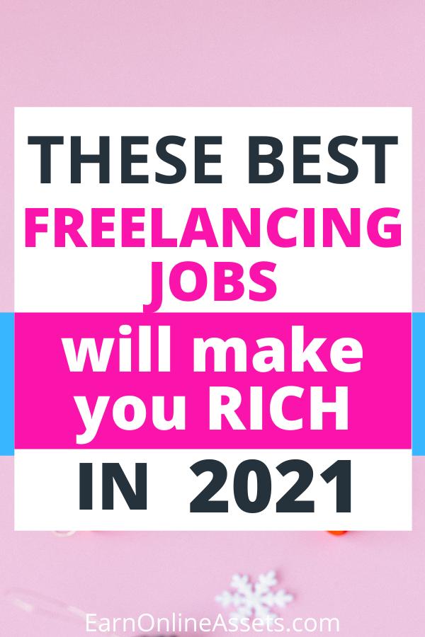 Best Highest Paying Freelancing Jobs In 2020 Freelancing Jobs Job Online Earning