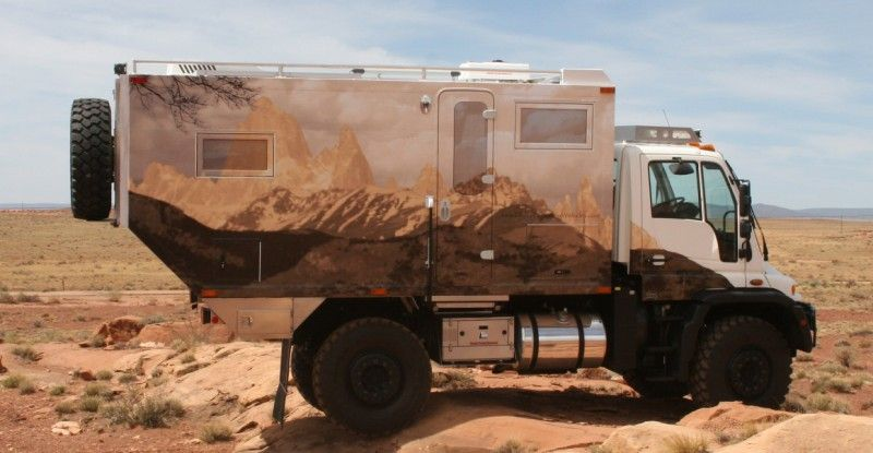 Image detail for -4x4 Custom-Built Expedition Vehicle For Sale| Unimog Chassis | Global ...