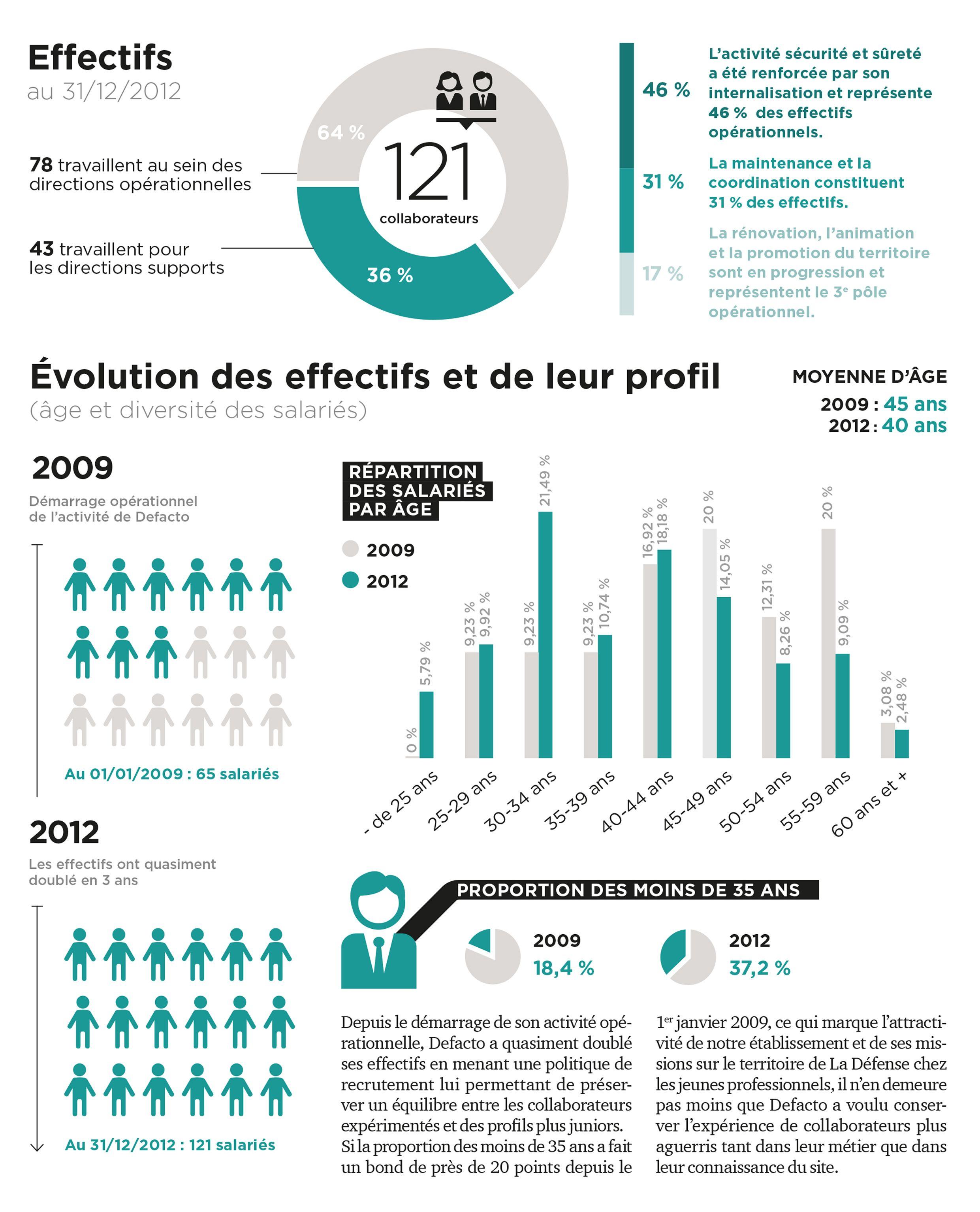 Rapport D Activite Defacto 2012 Dataviz Ressources Humaines Agence Citizen Press Paris Modele De Rapport Agence De Communication Dataviz