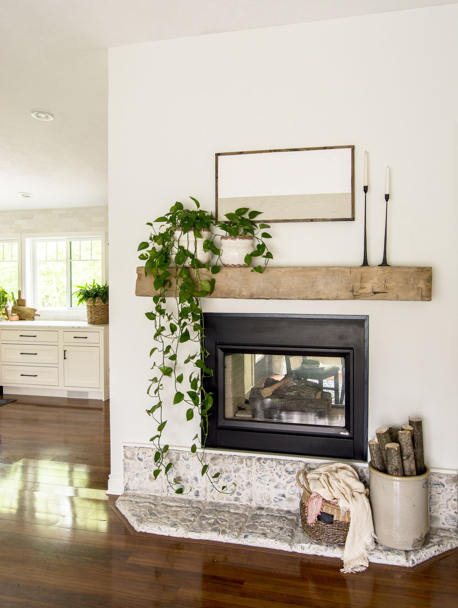 Photo of Effortless Summer Mantel Ideas | Grace In My Space