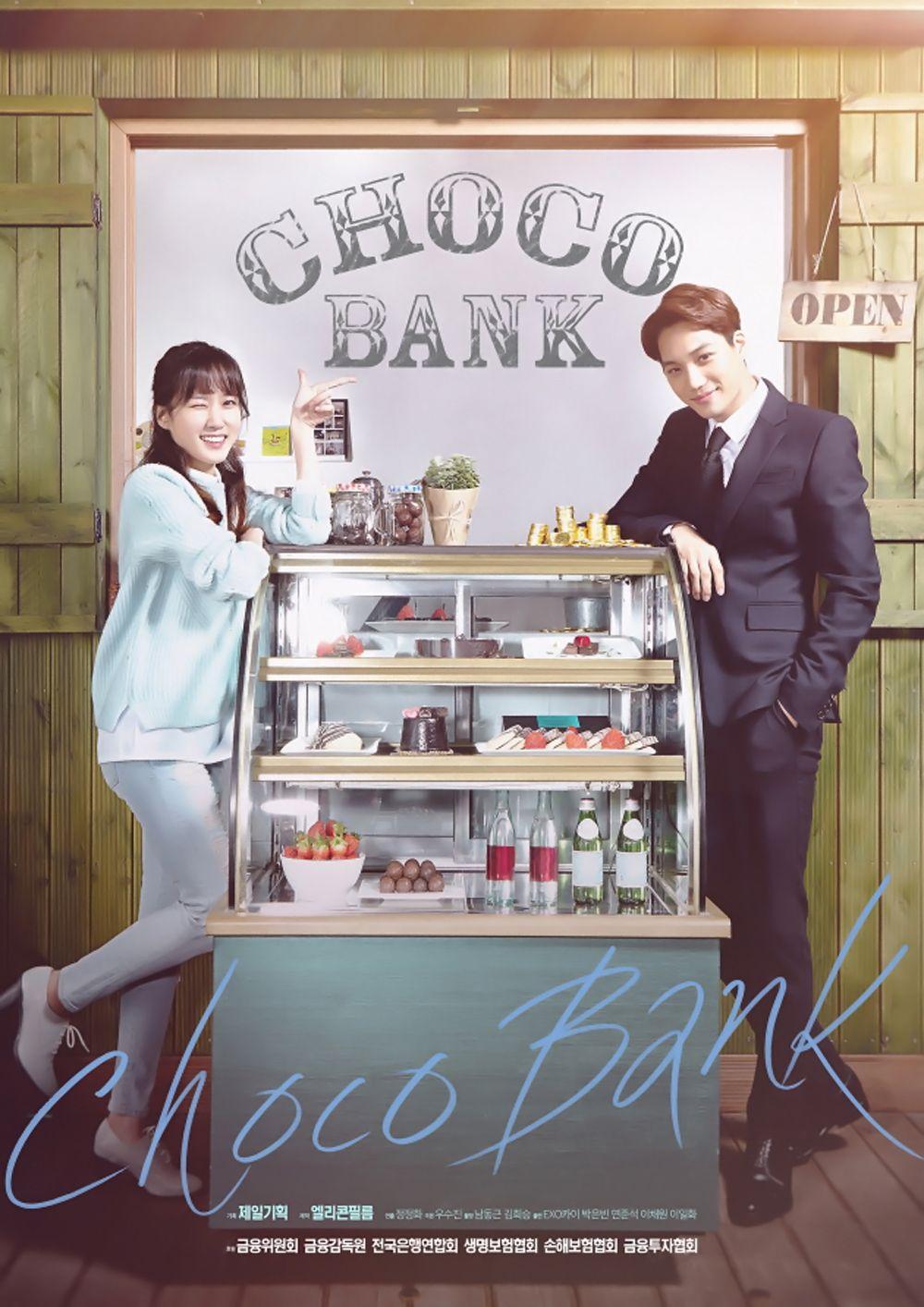 Choco Bank Korean Drama Kim Jong In Park Eun Bin Yun Joon Suk Drama Korea Film Biografi Drama