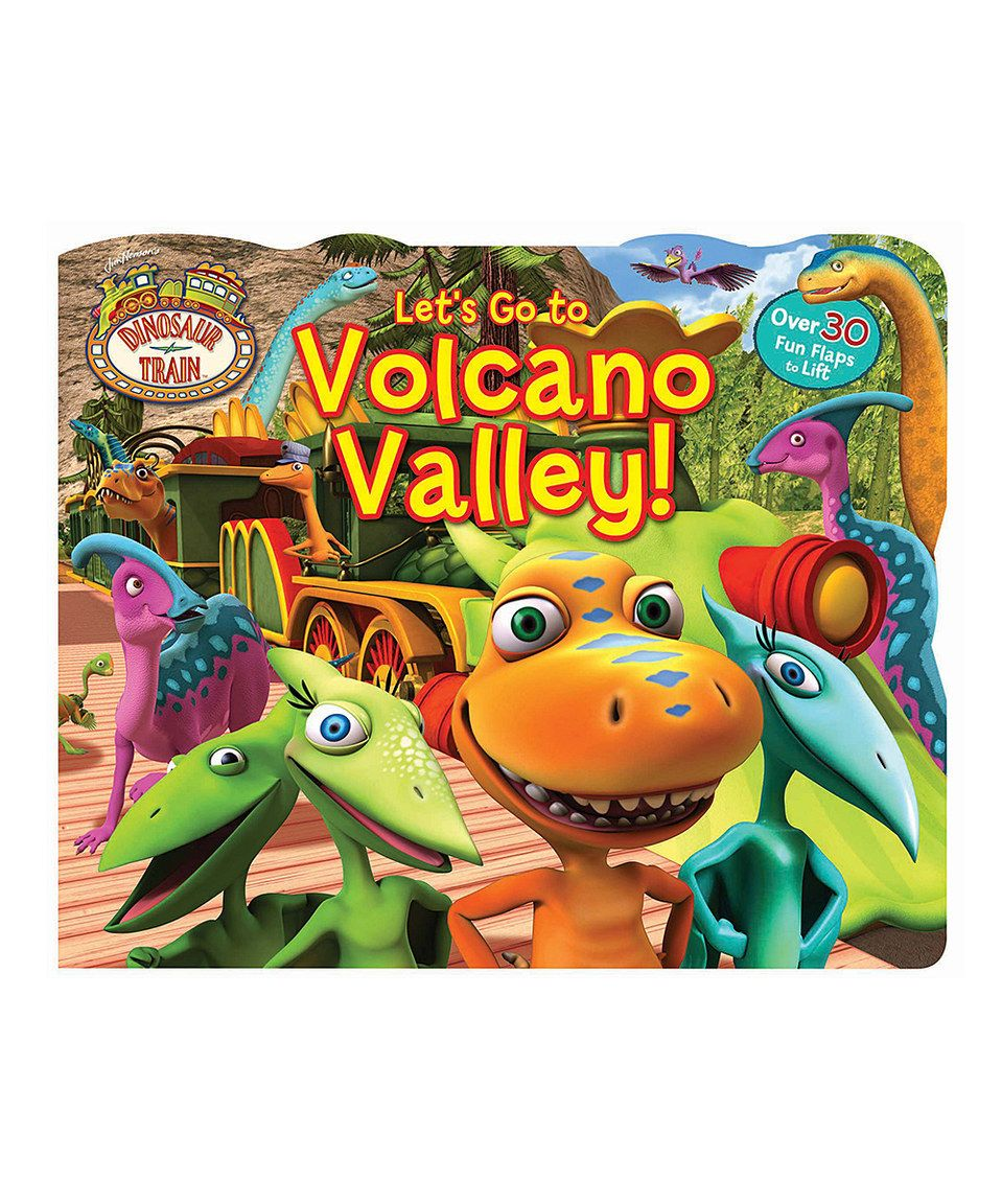 This Dinosaur Train Let's Go to Volcano Valley! Board Book