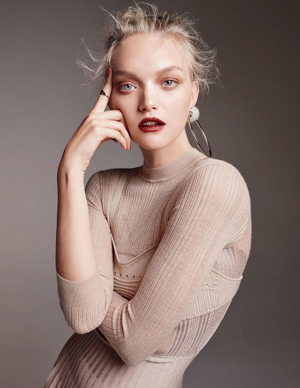 1504e1c29 Model Gemma Ward is styled by Rachel Wayman for Georges Antoni images for  Elle Australia July