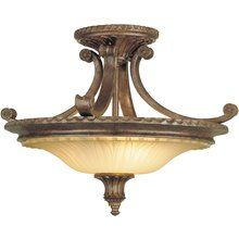 View the Murray Feiss MF SF193 Stirling Castle 2 Light Semi-Flush Ceiling Fixture at LightingDirect.com.