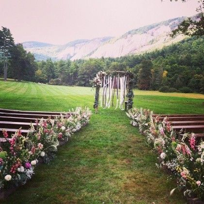 Rustic Outdoor Mountain Wedding. Lonesome Valley Cashiers, NC Floressence  Floral Design