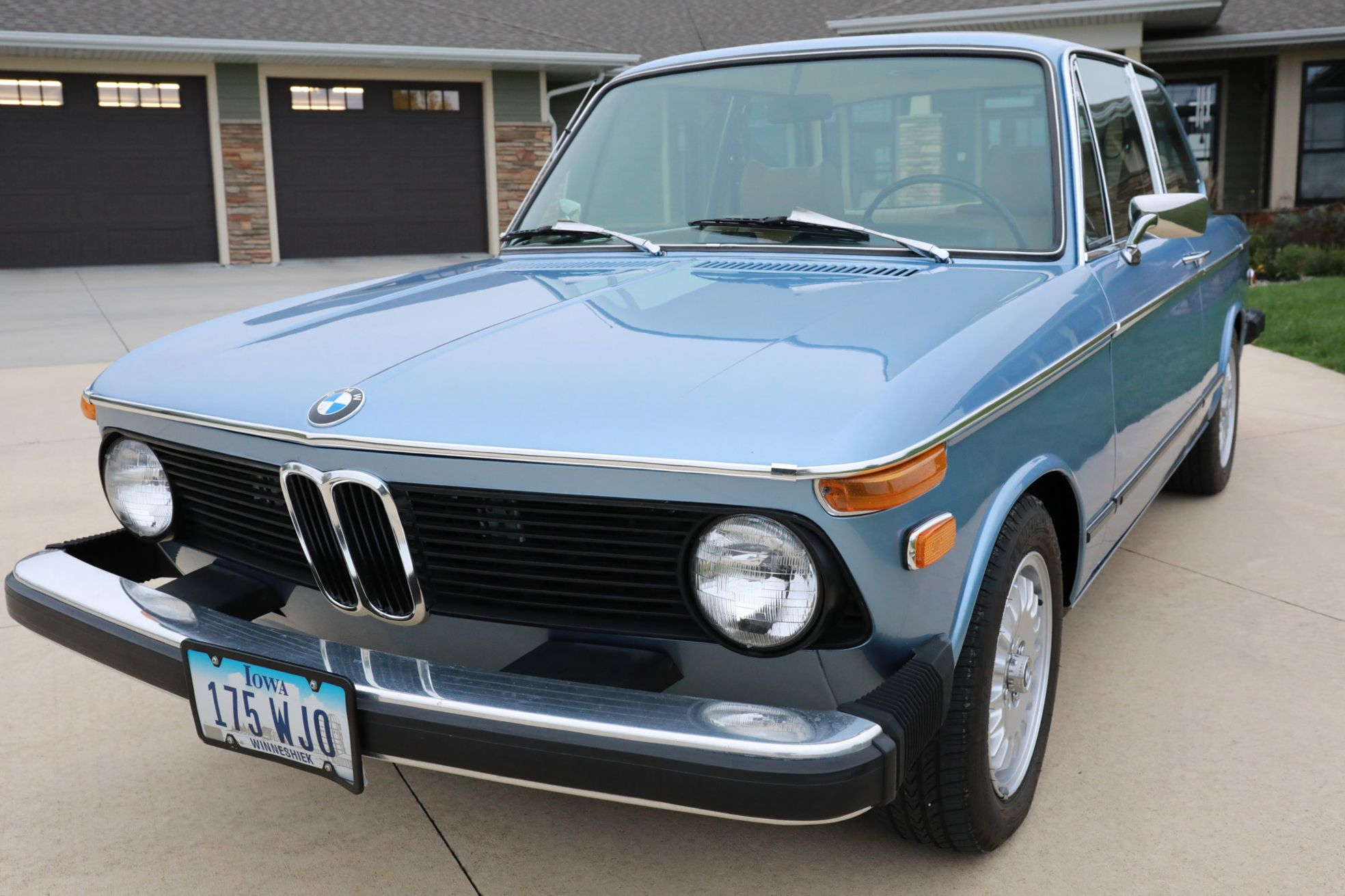 No Reserve: 1974 BMW 2002tii