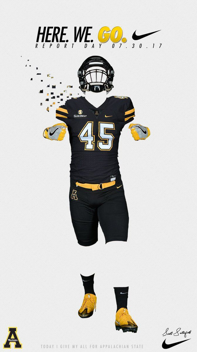 App State Sports Design Inspiration Sports Graphic Design App State