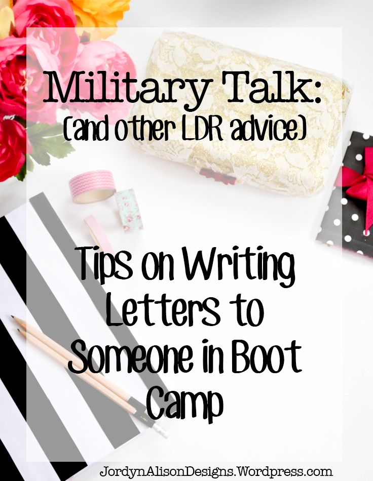 Writing Letters to Someone in Boot Camp Navy Girlfriend