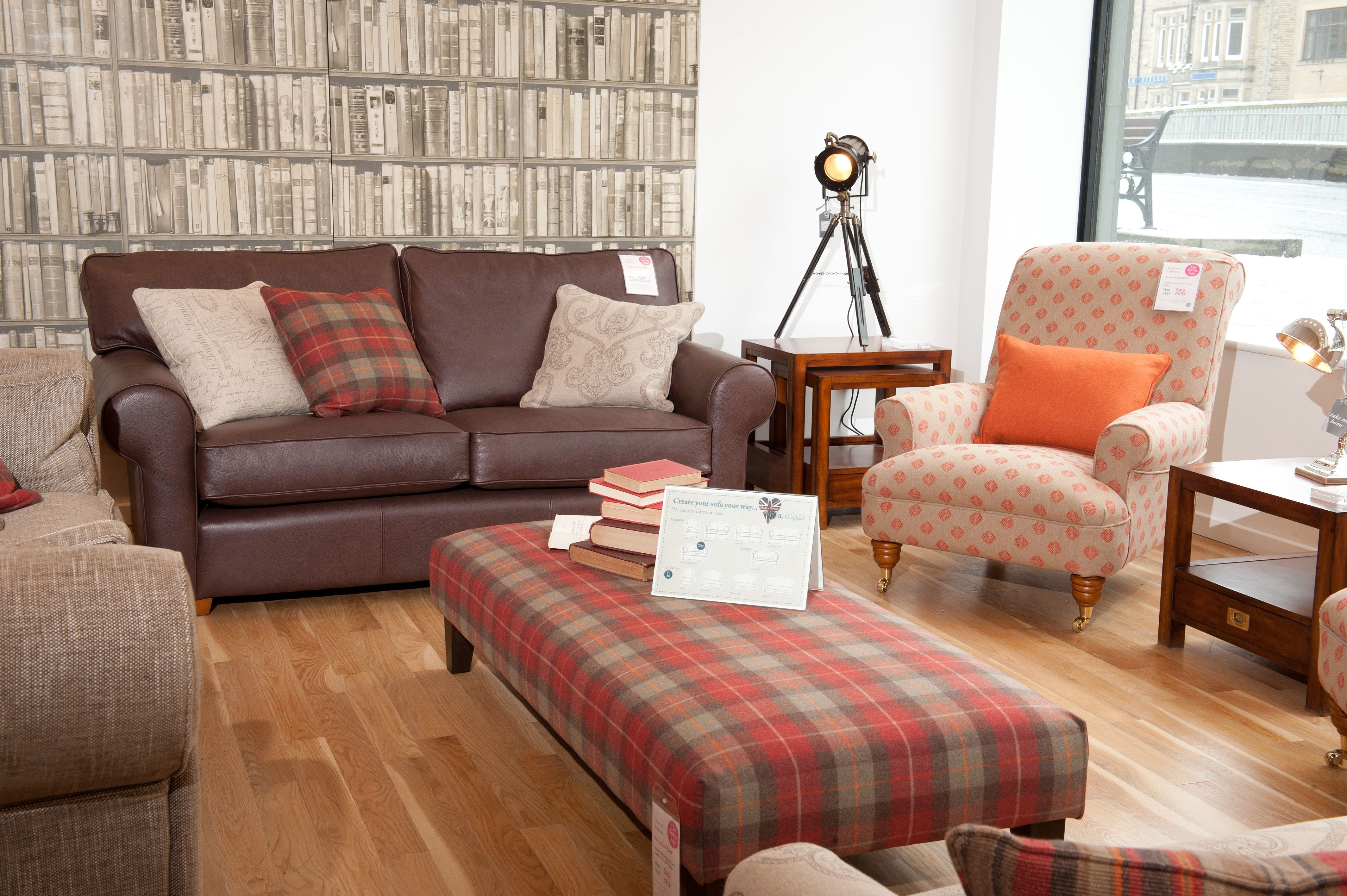 Mix And Match Leather And Fabric Sofas  Sofas in 2019