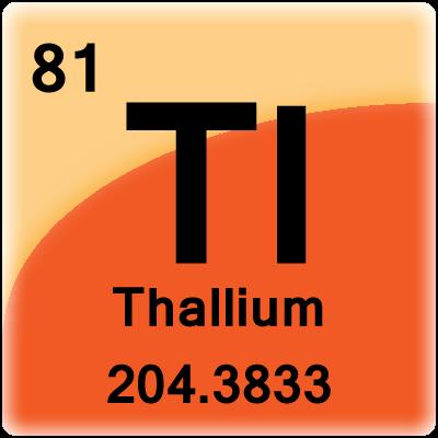 Element Cell For Thallium Avantika Jasmine Science Theme