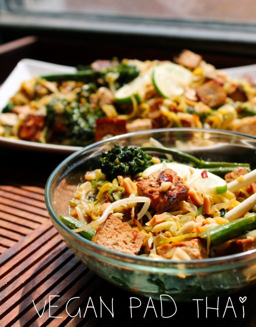 Noodle-less Vegan Pad Thai