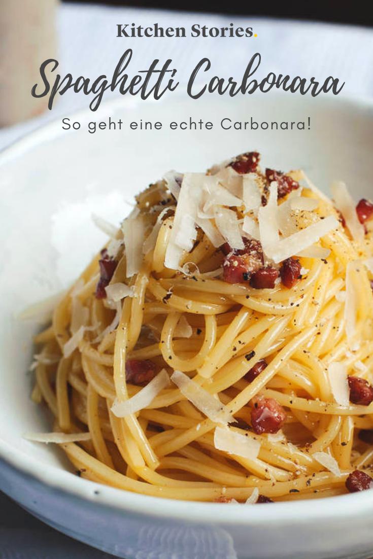 Spaghetti Carbonara | Rezept mit Video | Kitchen Stories