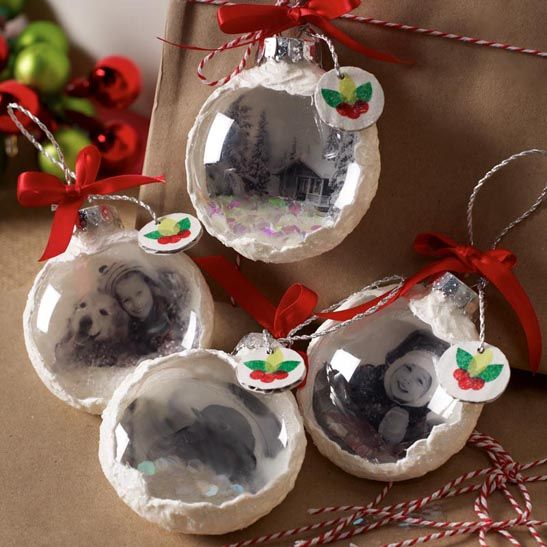 diy these top 50 homemade christmas ornaments - Christmas Decorations Pinterest Handmade