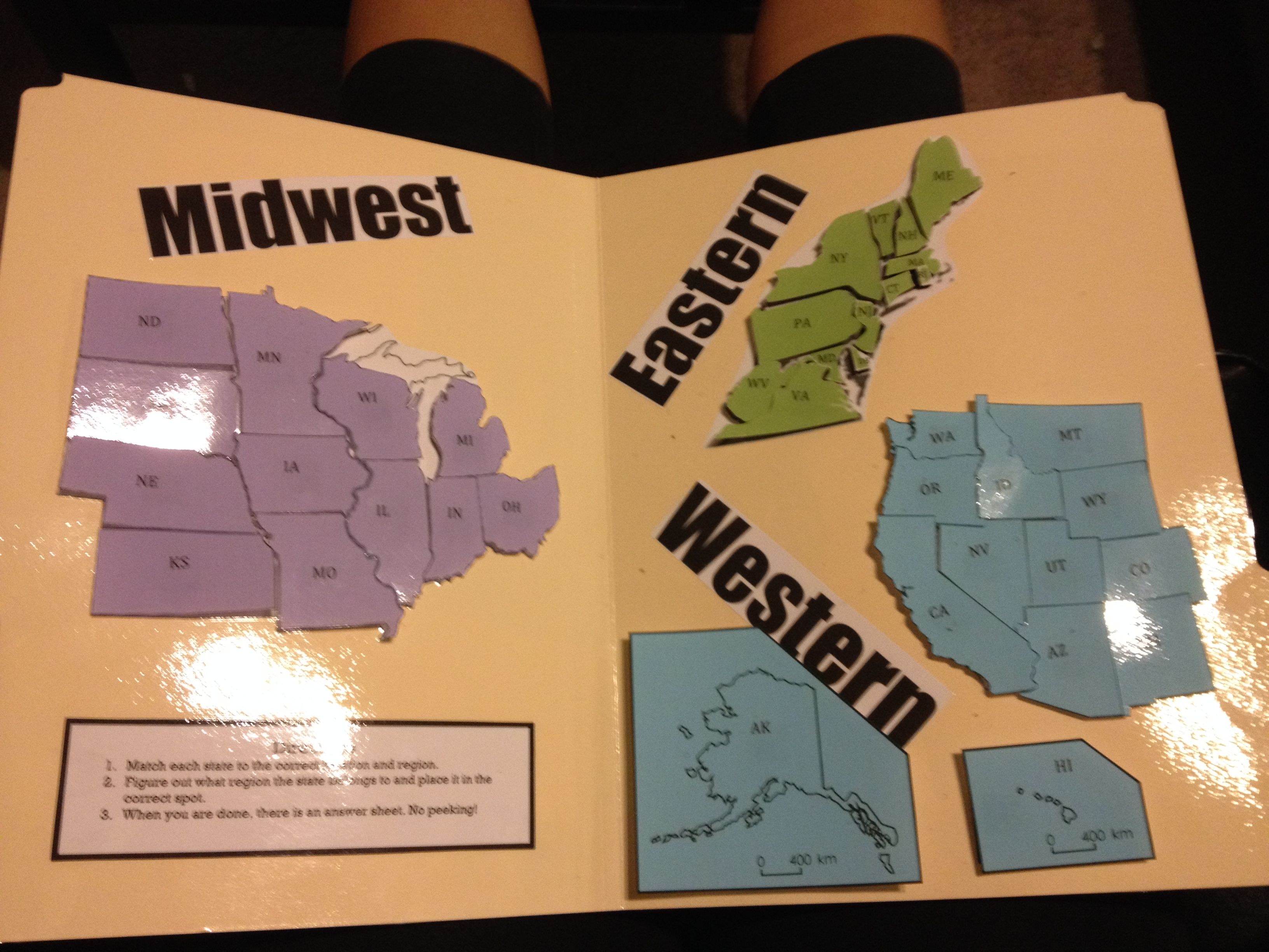 This Is A Geography Workjob For Third Graders They Are