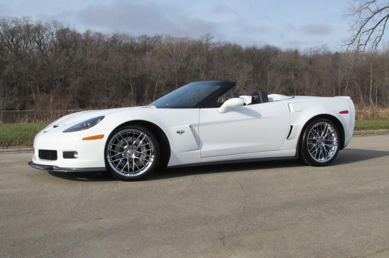 2013 Corvette Convertible For Sale In Wisconsin 53900 427 Convertible Only 1 300 Miles Arctic White With Diam Corvette Convertible 2013 Corvette Corvette