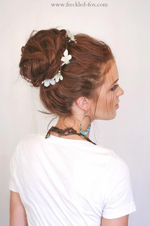 10 Hot Weather Hairstyles To Beat The Heat Hairstyles Pinterest