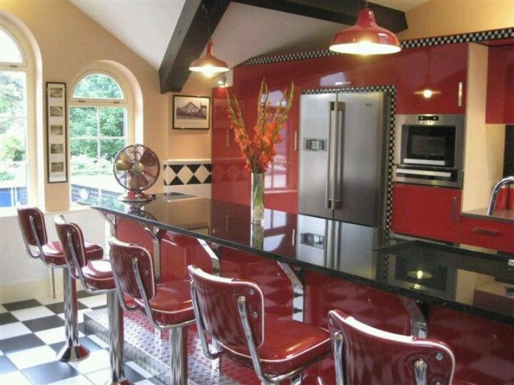 Best 50 S Diner Kitchen Oh My Word This Would Be Amazing 400 x 300