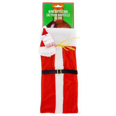 bulk santa wine bottle gift bags at dollartree com wine bottle
