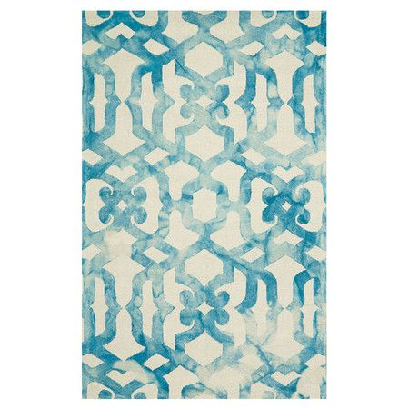 Anchor your living room seating group or define space in the den with this artfully hand-loomed jute and cotton rug, featuring a trellis-inspired print in an...