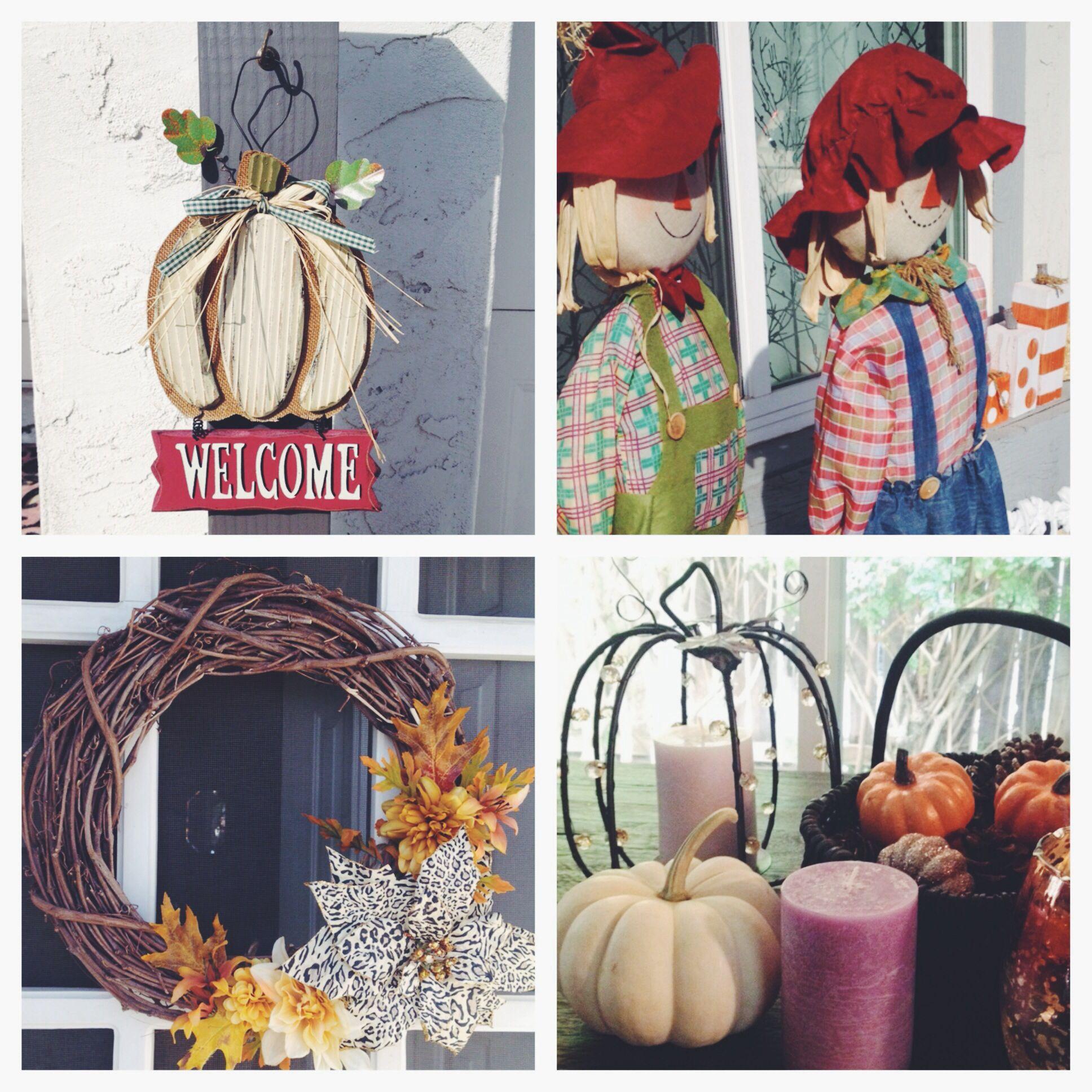 Fall decor! Fall decor, Happy fall, Fall wreath