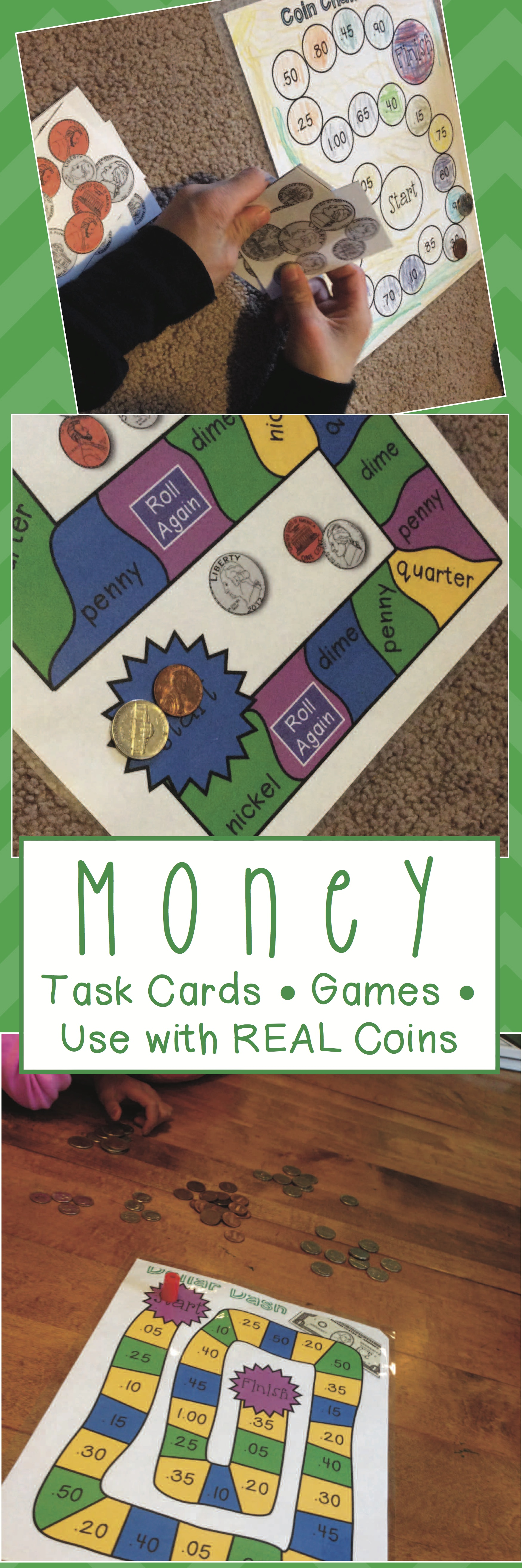 Money And Coin Counting