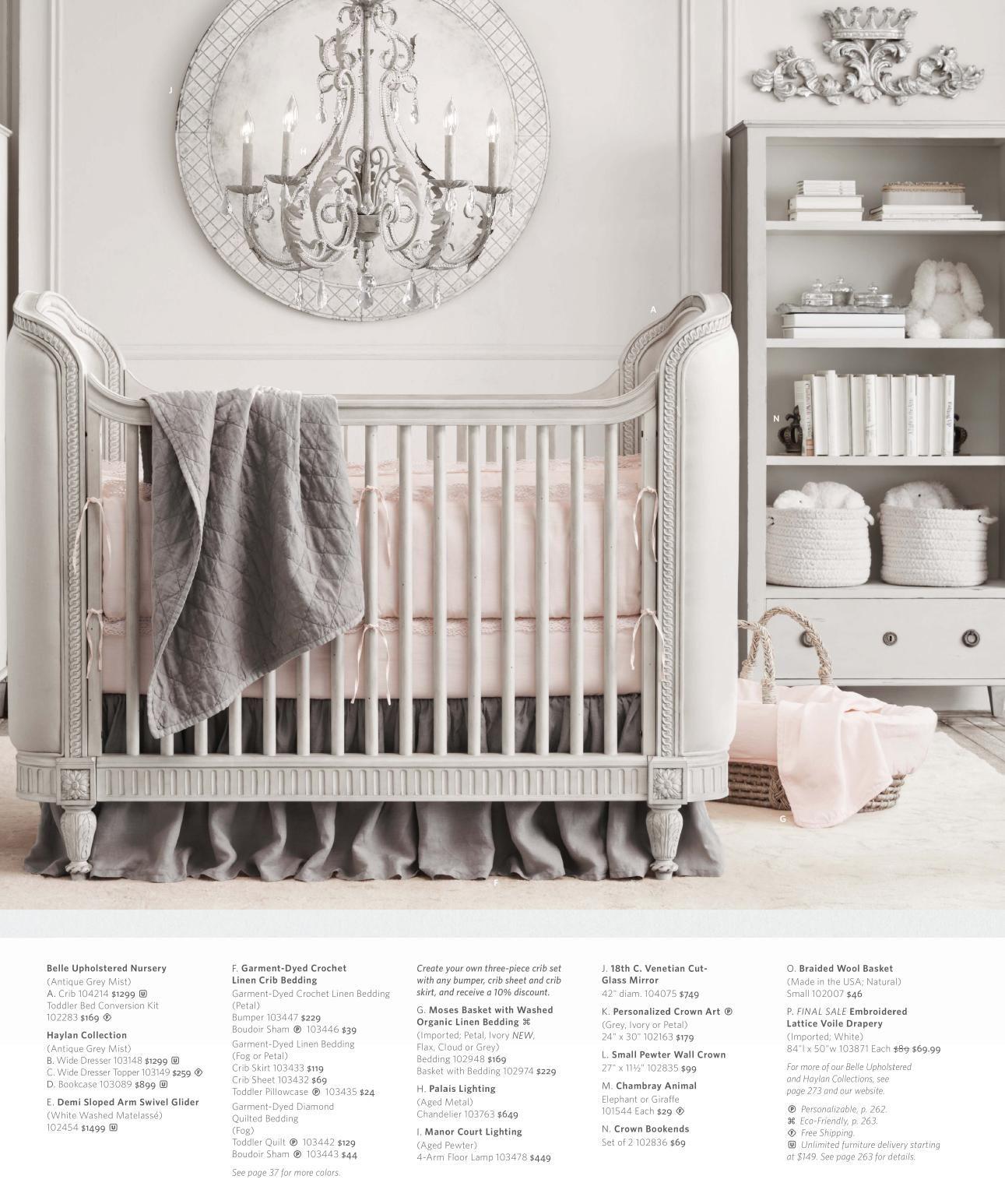 Rh Nursery Belle Collection B A Y O H