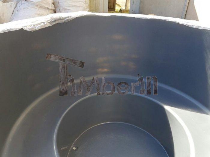 Hottub ingraven fiberglas terras model werner abbeel wuustwezel