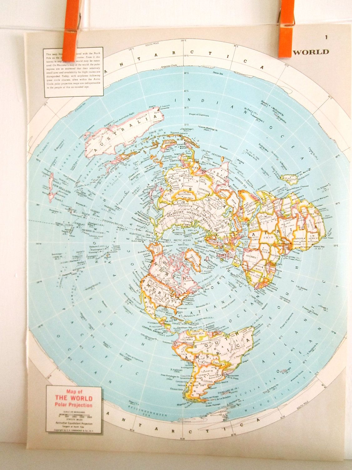 World map vintage map of the world pastel colors map colors 1940s find an old atlas from a used book store and cut out the world map or one of the countries we are from scotland england netherlands etc gumiabroncs Image collections