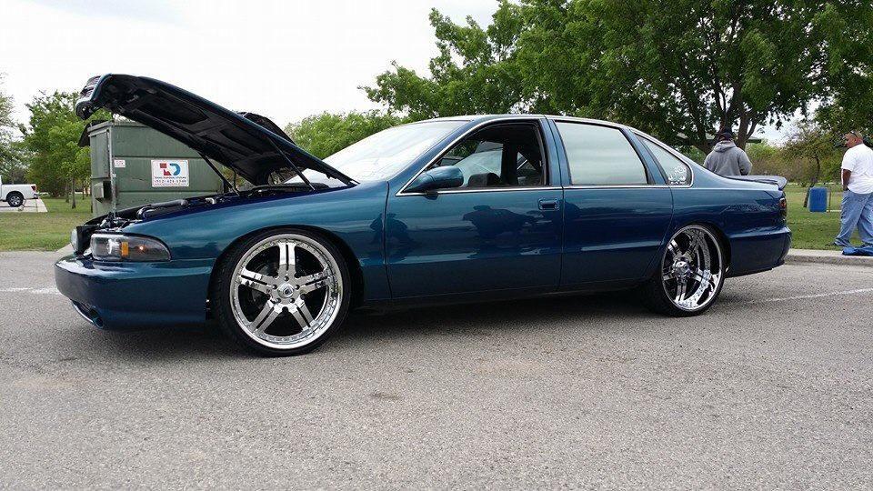 96 impala ss. asanti af135 wheels split 5 star