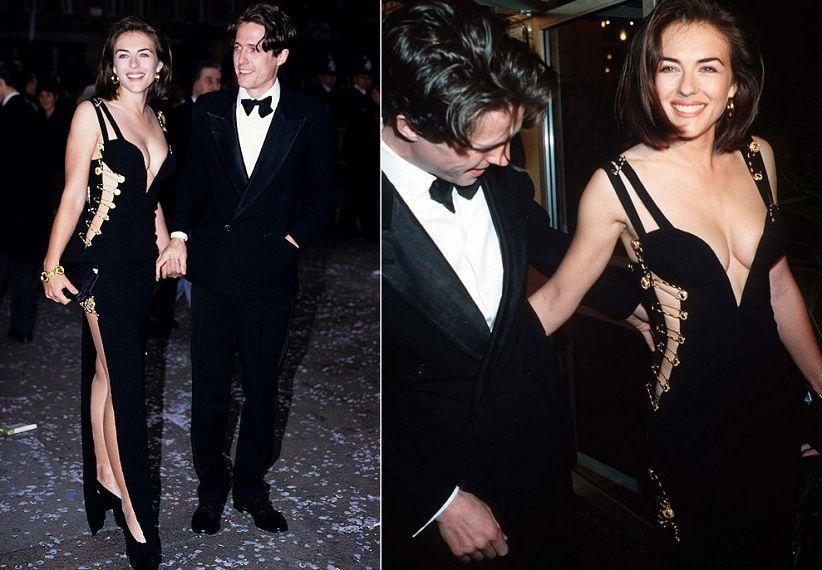 Elizabeth Hurley In Versace 1994 Versace Gianni Versace Versace Dress