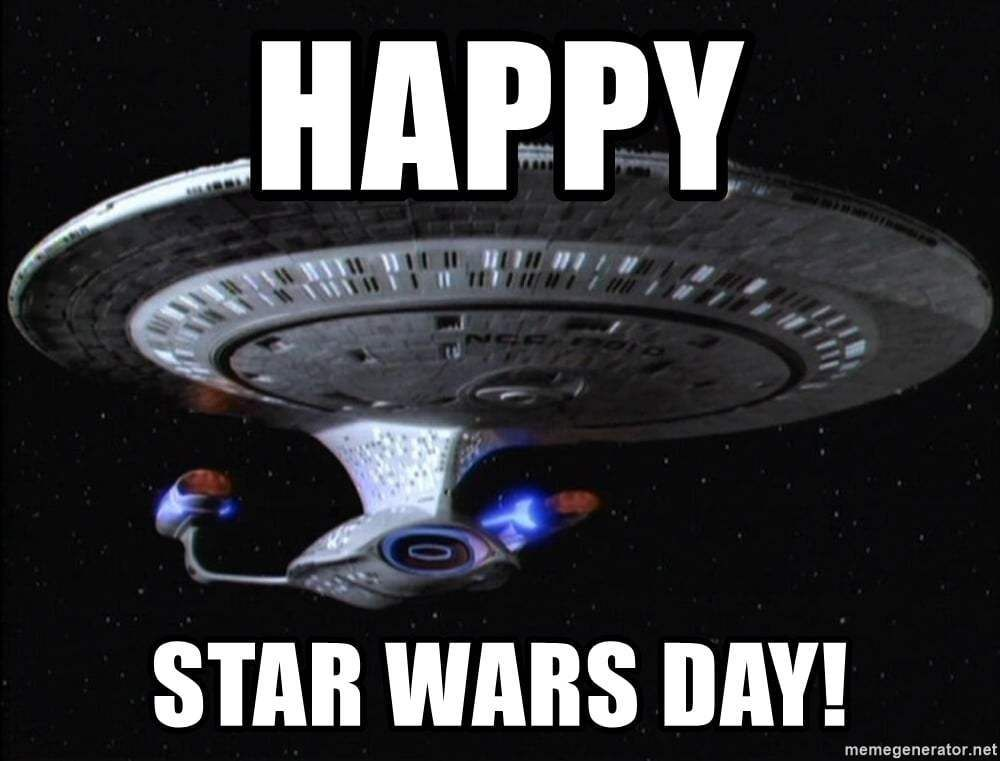 Funny Star Wars Memes Perfect For May The Fourth Funny Star Wars Memes Star Wars Day Memes Happy Star Wars Day