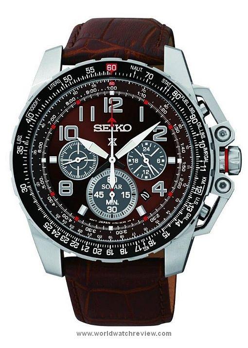 59ffed6aad0f64 Seiko Prospex Solar Pilot Quartz Chronograph (Ref. SSC279)   MONTRES   Montre  seiko, Montre et Montres Homme