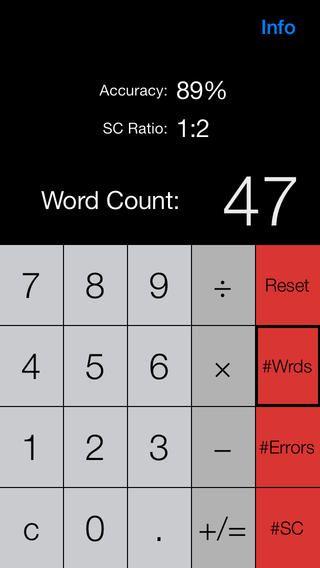 Running Record Calculator FREE for Apple IOS: Running Record
