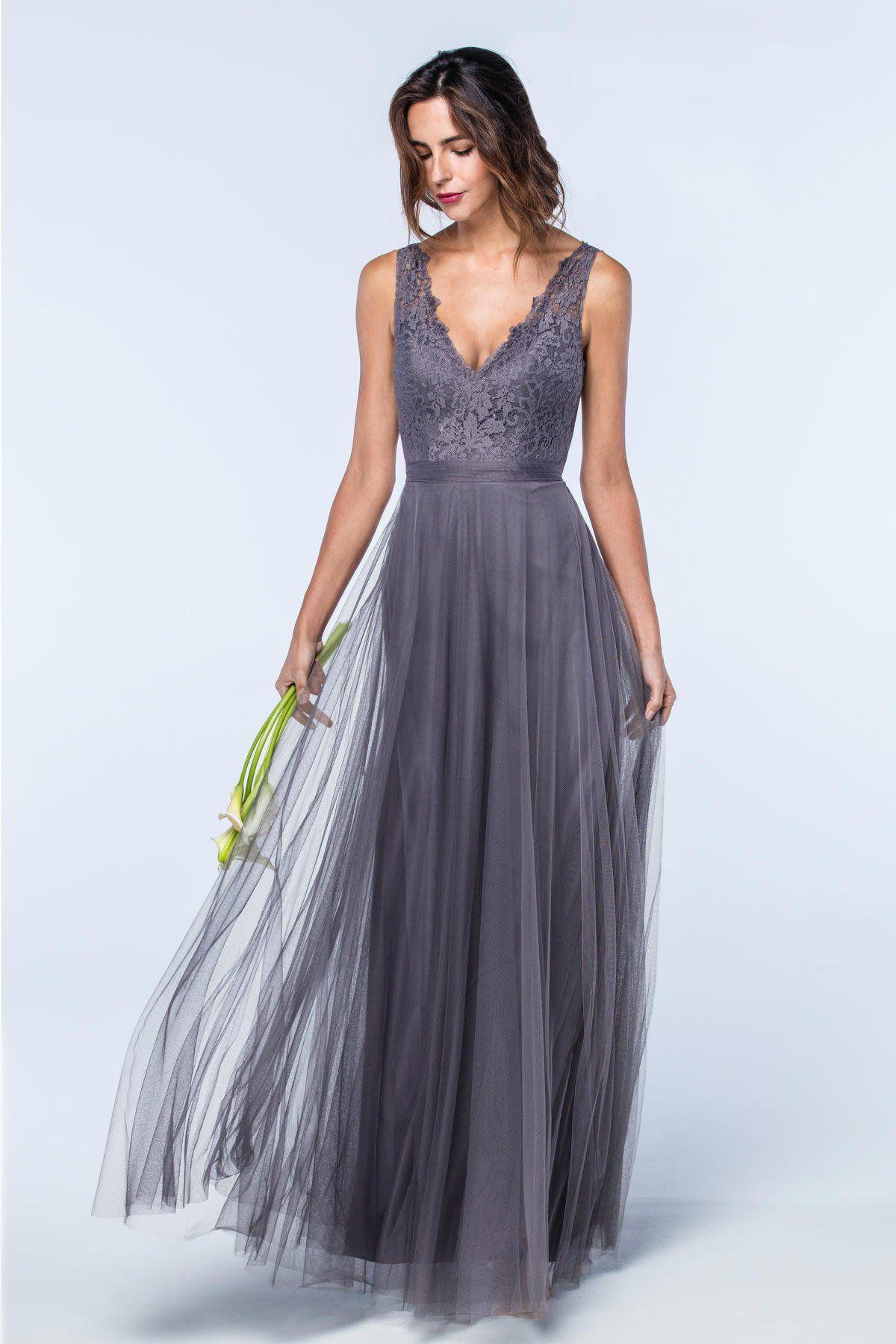 Desiree 2600 | Bridesmaids | Watters Pewter | Bridesmaid Inspo ...