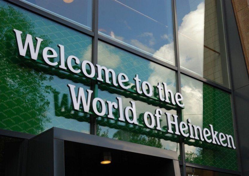BEER. Amsterdam: Heineken's hometown