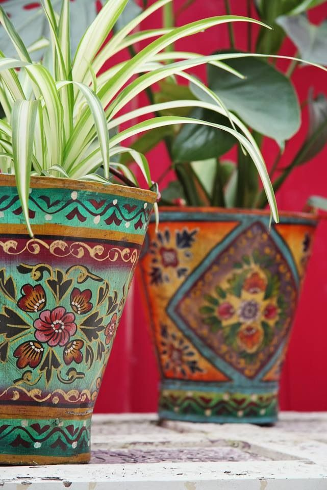 Bucket Planters Indian Style Bucket Planters Planter