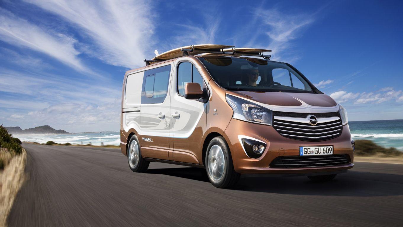 News: Opel Vivaro Surf Concept - Auf der Freizeitwelle