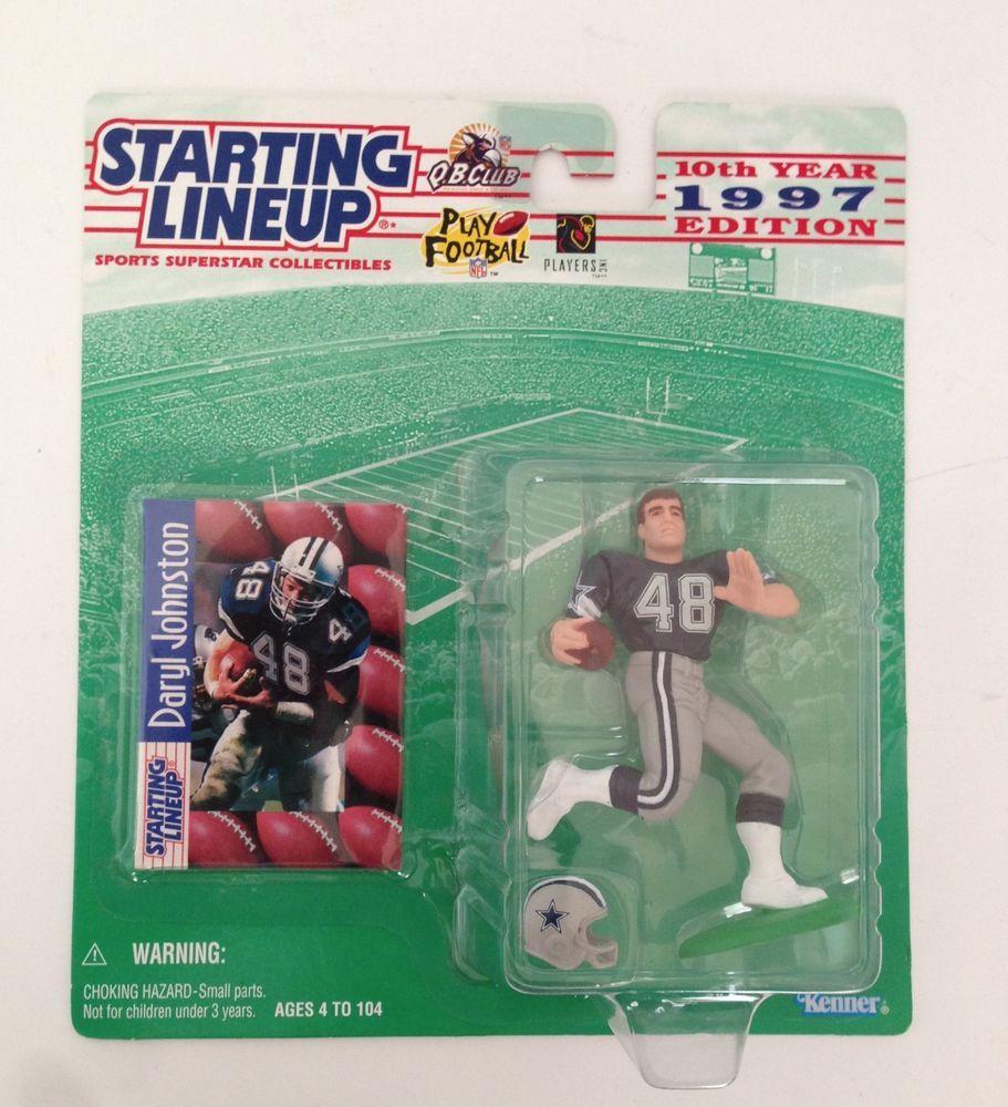 Starting Lineup 1997 Edition Daryl Johnston Dallas Cowboys Nfl Football Figure Nfl Football Dallas Cowboys Georgia Football