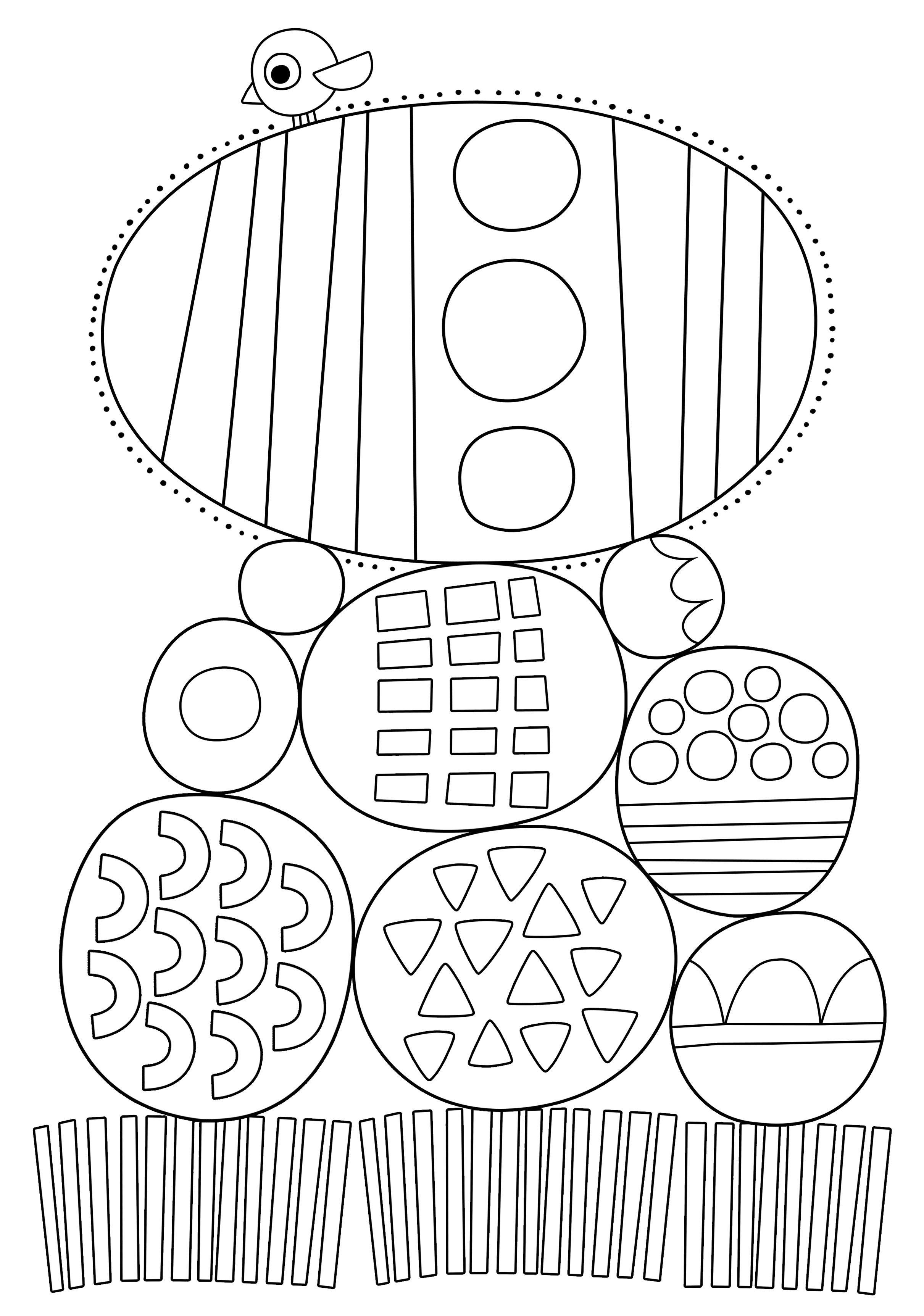 Pikku Kakkosen tulostettavat värityskuvat. Free printable pattern ...