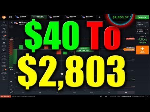 live trading binary options