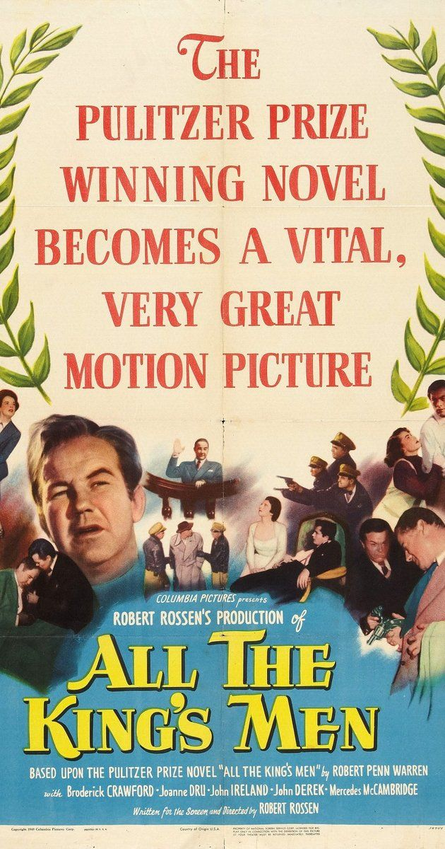 Directed by Robert Rossen. With Broderick Crawford, John