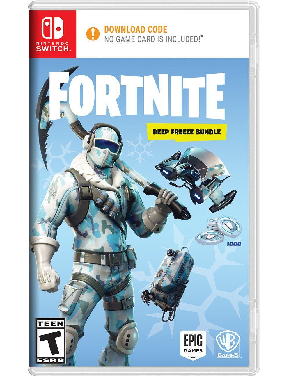 Fortnite Deep Freeze Bundle Nintendo Switch In 2020 Fortnite Nintendo Switch Epic Games Fortnite