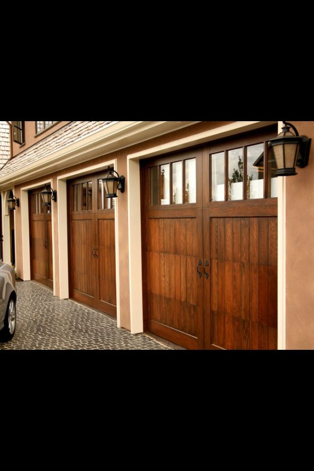 Multiple Garage Doors Can Be Customized With Weatherproof Lighted Signs  From Www.addressled.com