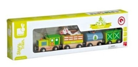 Bring home the fun of farm living with Janod's Story - Farm Train. Available at OurPamperedHome.com