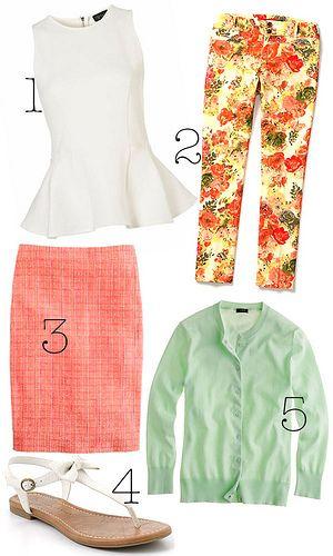 5 tendências para o verão ☀