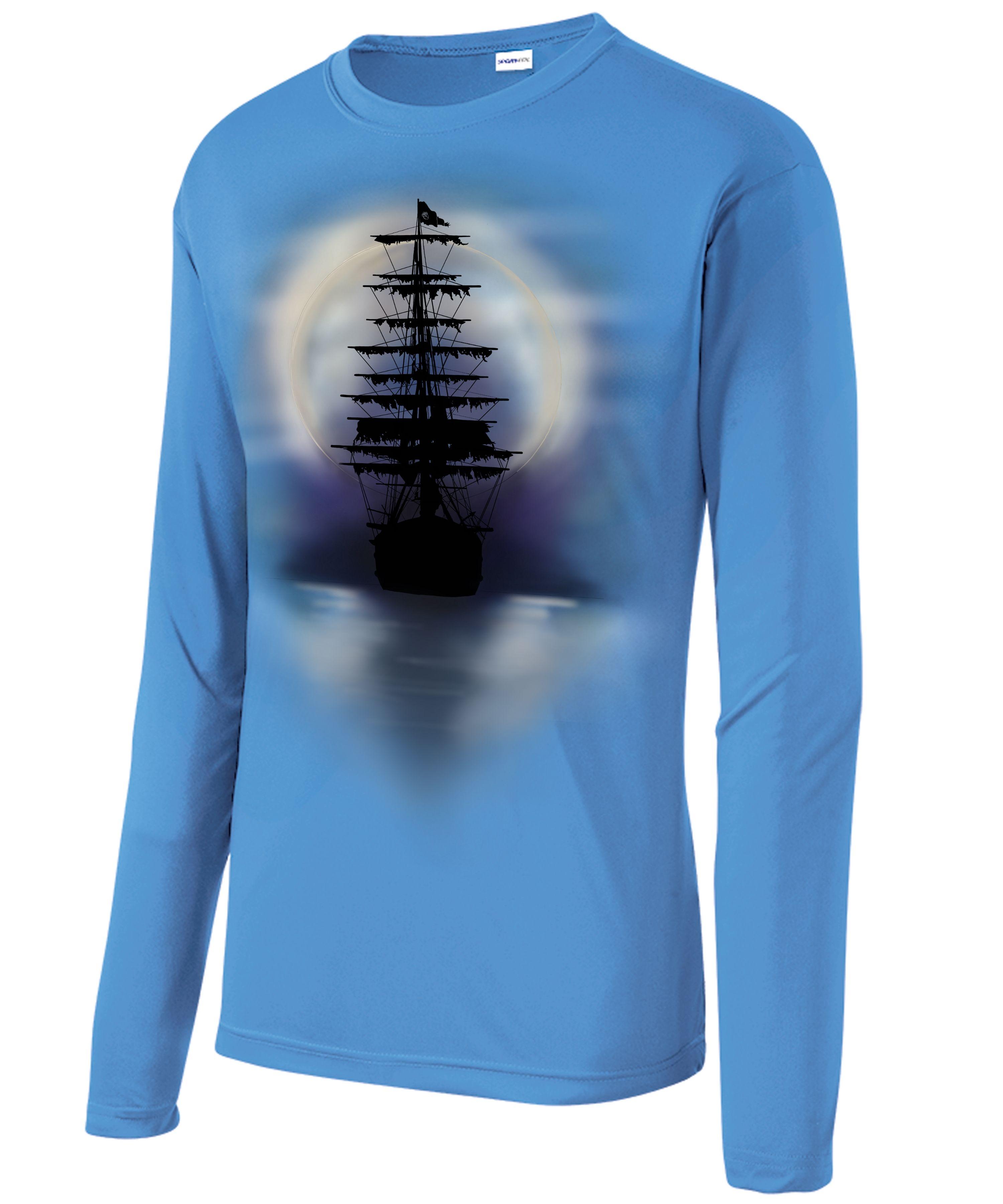 Custom Printed Long Sleeve Fishing Shirts Lauren Goss