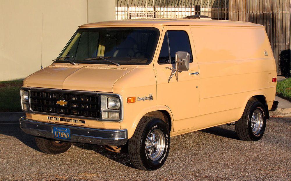 1978 Chevrolet G20 Van Shorty Van Vans Chevrolet Van Chevrolet